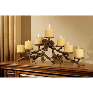 Mantlepiece Candelabra Centerpiece