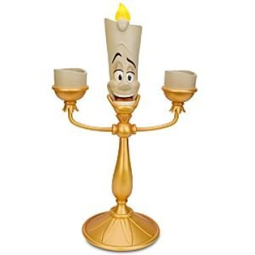 Disney Beauty and the Beast Lumiere Candelabra