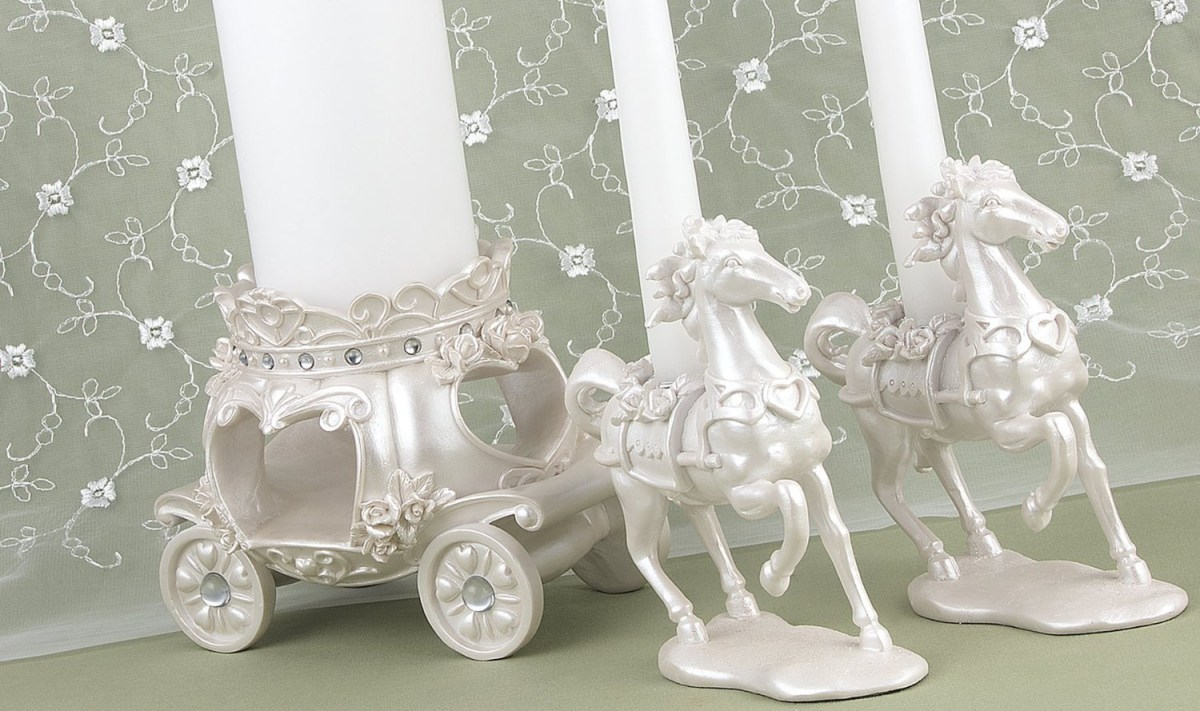 Fairytale Wedding Unity Candelabra