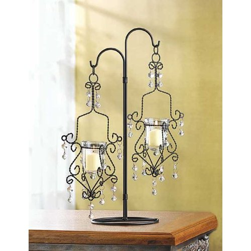 Mini Chandelier Cheap Wedding Candelabra Centerpiece