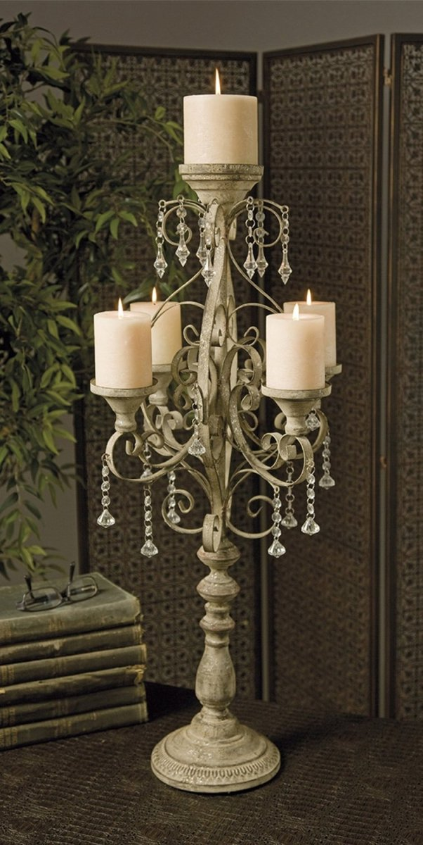 Outdoor Wedding Candelabra