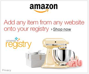 Amazon wedding registry - add any item