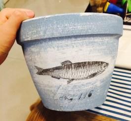 Fishy pot