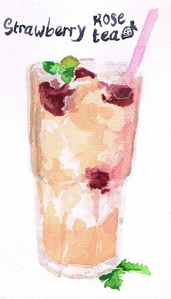 Strawberry Rose Tea