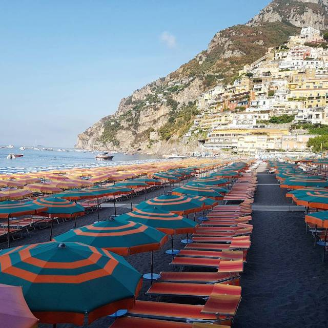 Beach day    positano amalficoast italy