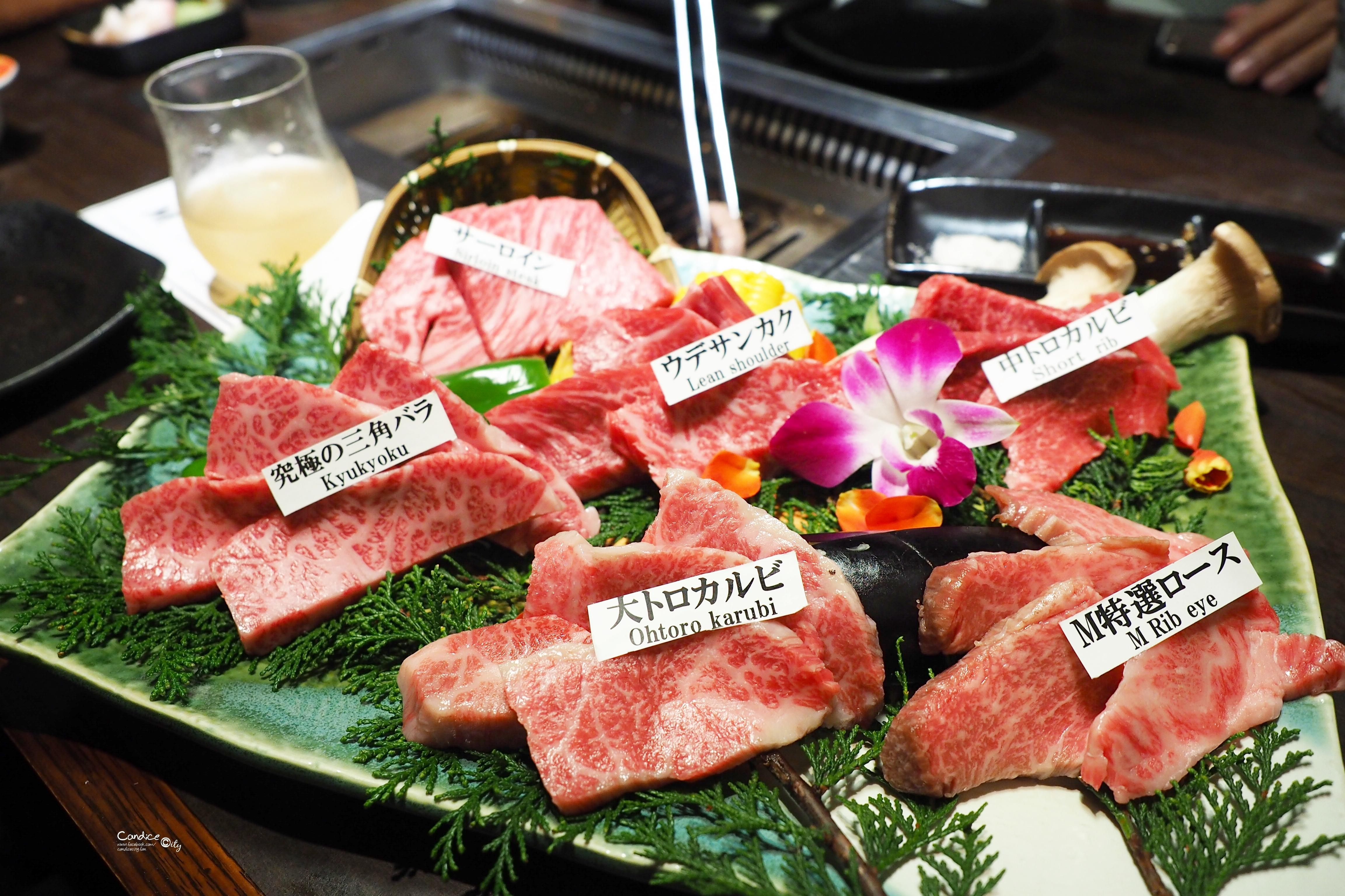 松阪牛 燒肉M 吃了回不去的美味和牛燒肉.大阪難波心齋橋燒肉推薦!   陳小沁の吃喝玩樂