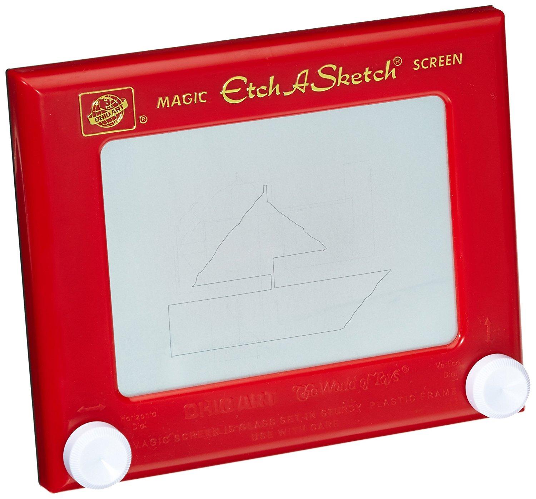 Classic Etch A Sketch Magic Screen New Free Shipping EBay