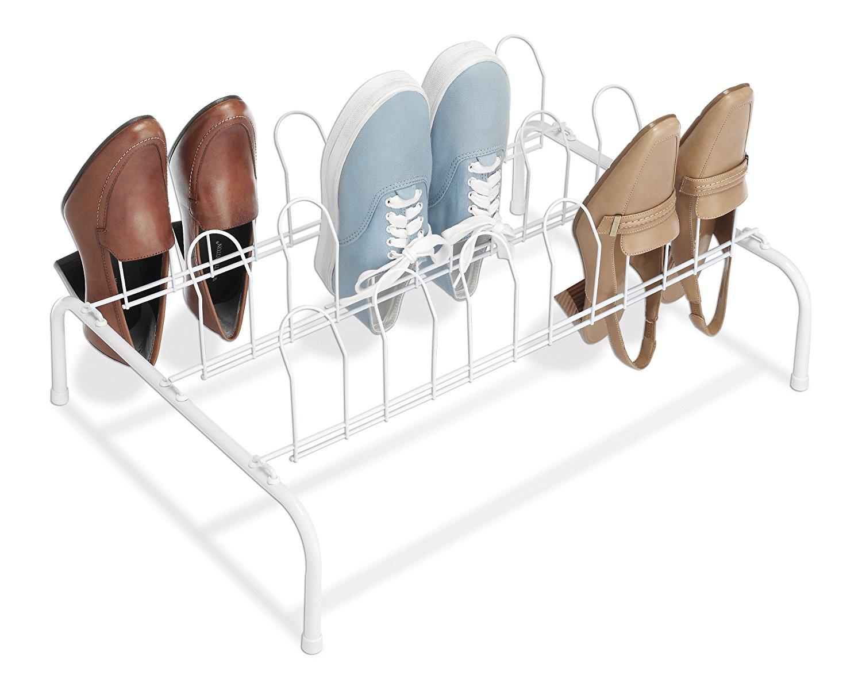 Whitmor 6023105 Floor Shoe Rack  New Free Shipping
