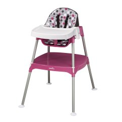 Bright Starts High Chair Pico Folding Evenflo Convertible Dottie Rose New Free Shipping Ebay Main Image