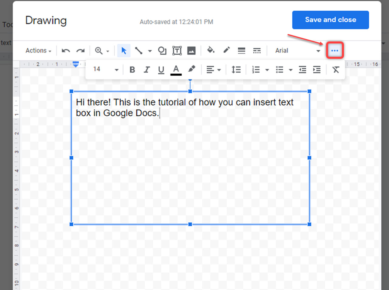 How to add text box in Google Docs?   Candid.Technology
