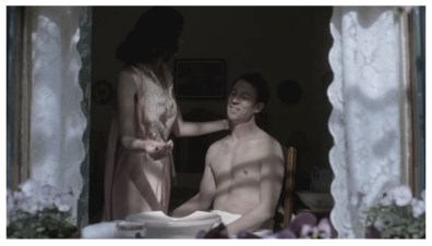 Caitriona Balfe & Tobias Menzies as Claire & Frank Randall
