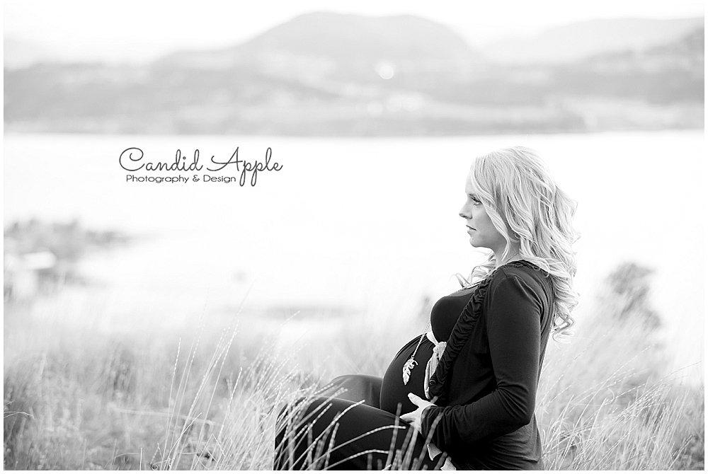 Sarah | Baby Bump Portraits – Knox Mountain Park