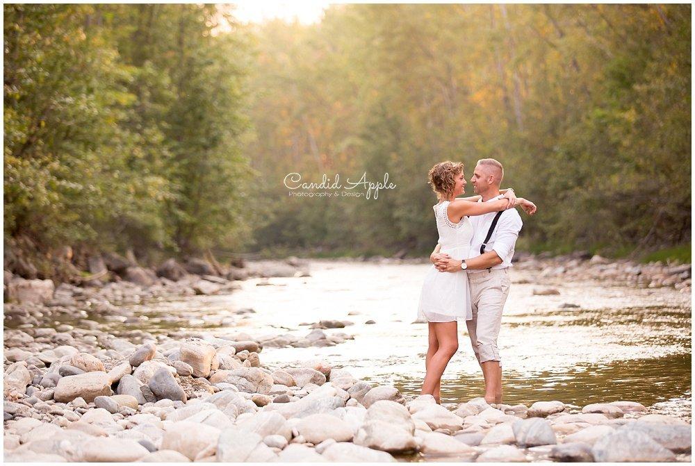 Ken & Trish | Mission Creek Park Engagement, Kelowna