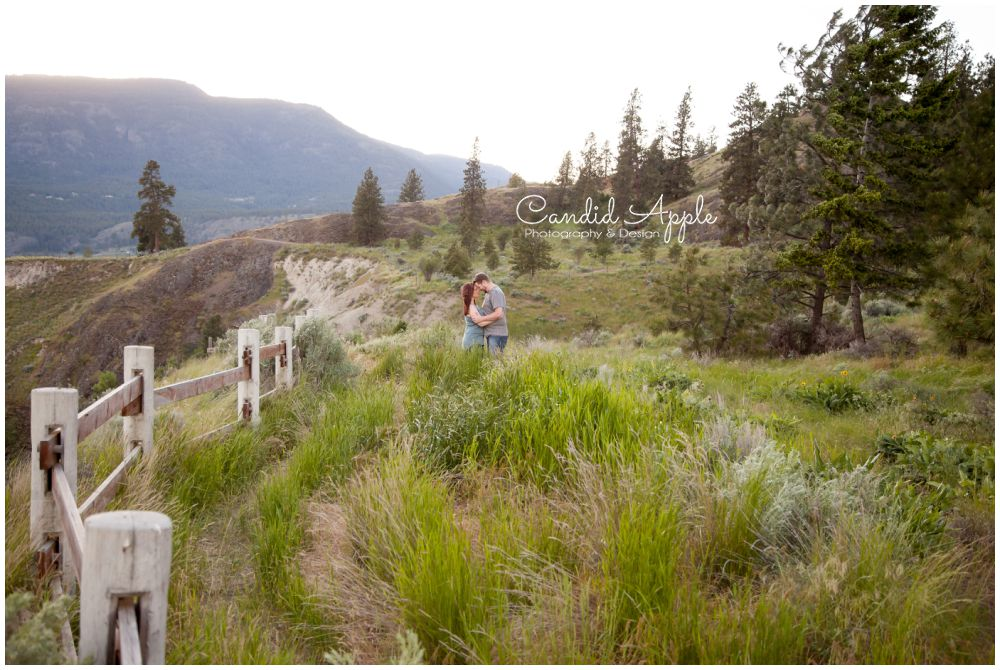 Tim & Rachel | Knox Mountain Engagement