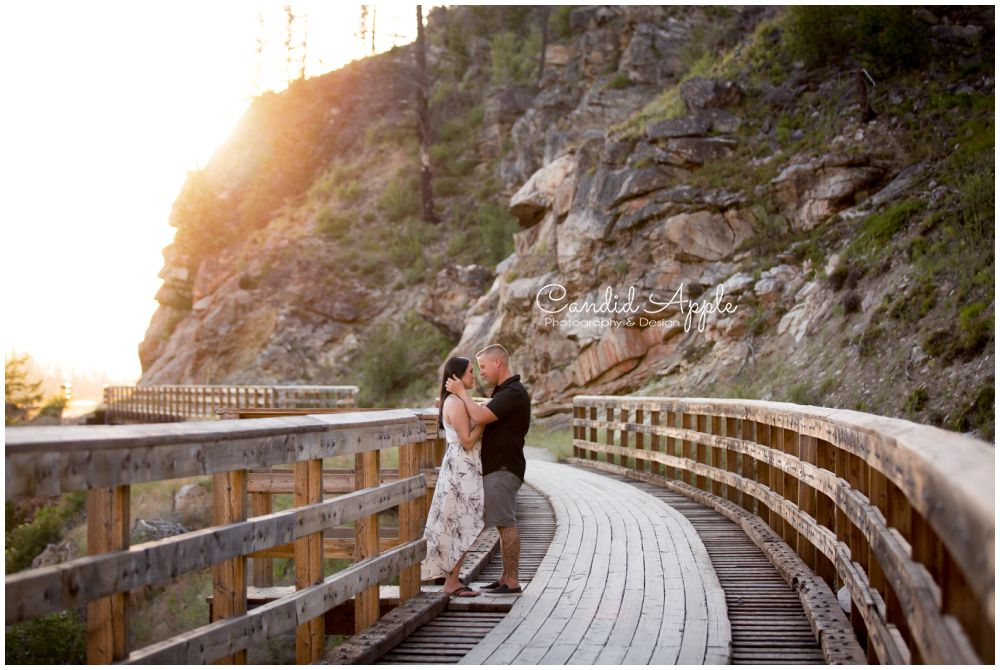 David & Leanne | Myra Canyon Engagement