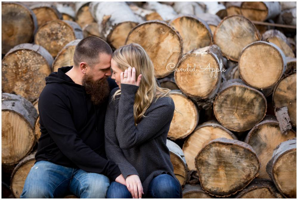 Ryan & Jenny | Caldwell Heritage Farm Engagement