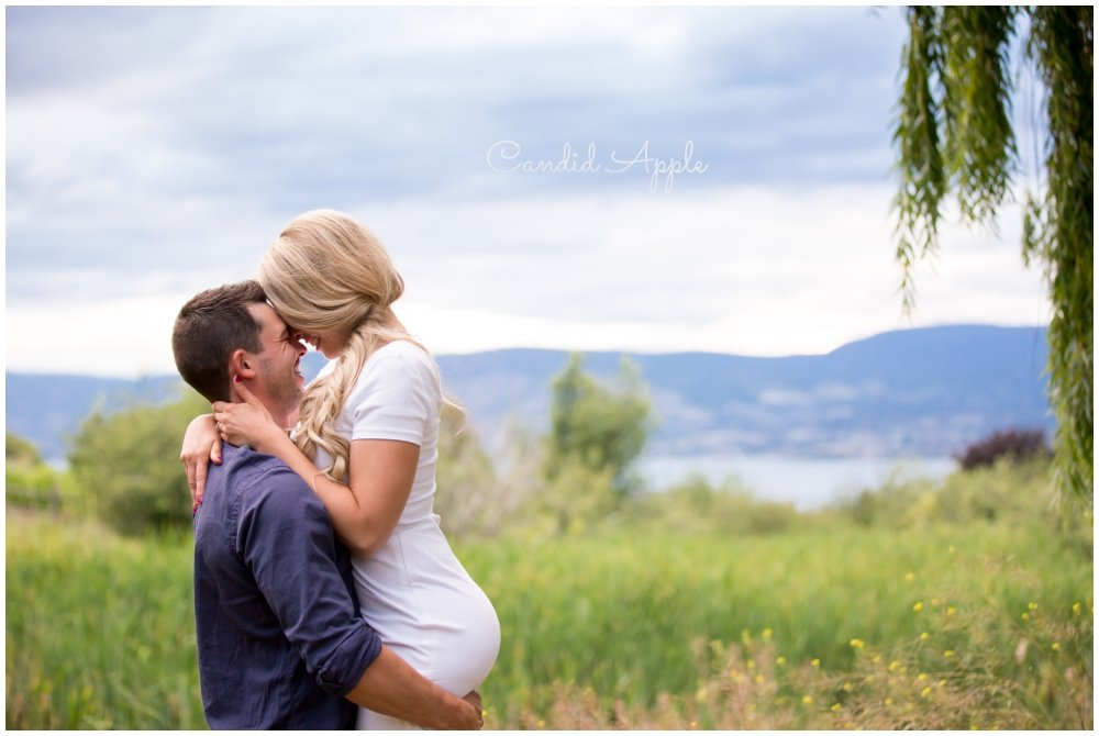 Alysha & Josh | Summerhill Winery, Kelowna Engagement