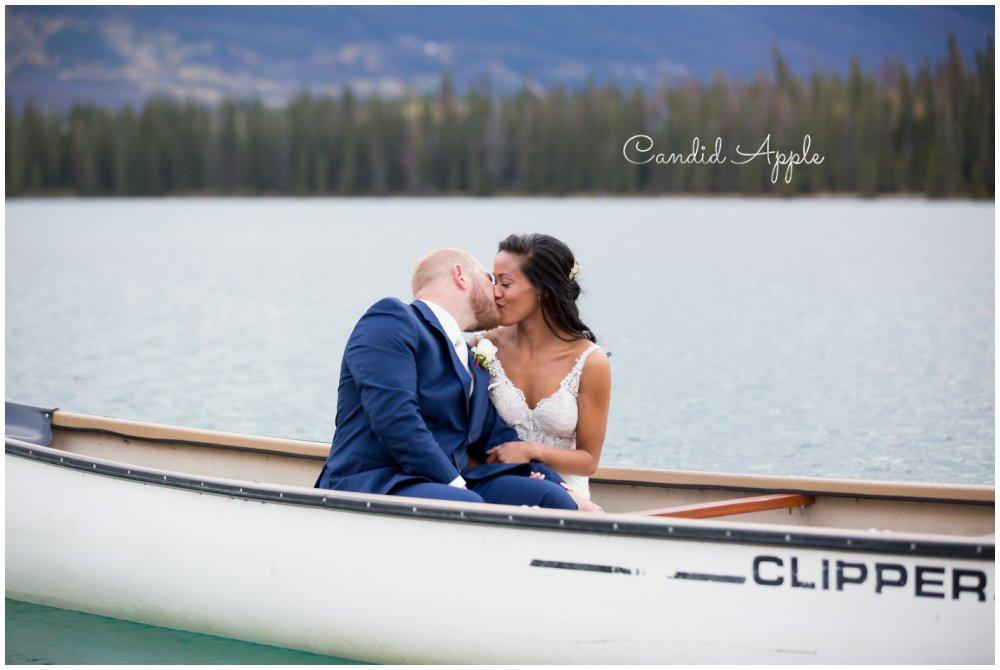 Hazel & Kyle | Jasper Park Lodge Wedding