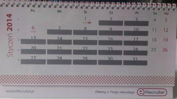 erecruiter kalendarz daty