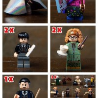 Box Distribution : LEGO Wizarding World of Harry Potter Collectible Minifigures