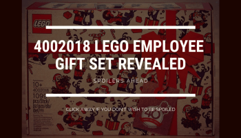 2019 LEGO employee Christmas Gift set 4002019