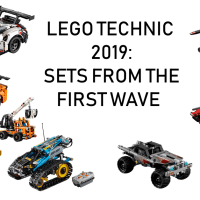 2019 LEGO Technic : sets from the first wave