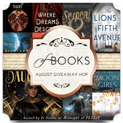 August book giveaway