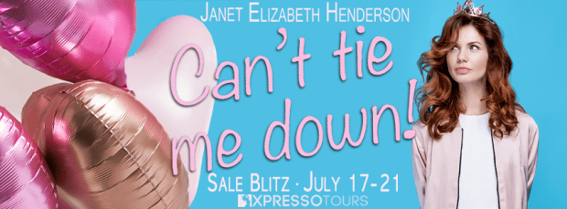 Amazon Giveaway: Can't Tie Me Down!