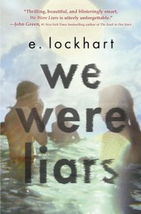 Book cover for We Were Liars by E. Lockhart.