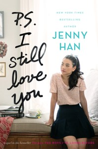 Book cover for P.S. I Still Love You by Jenny Han.