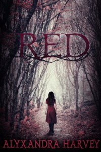 Book Cover for Red by Alexandra Harvey.