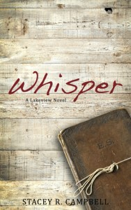 Book cover for Whisper by Stacey R. Campbell.