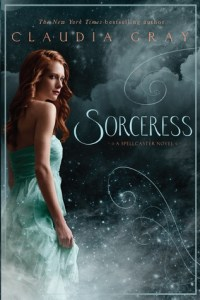 Book cover for Sorceress by Claudia Gray.