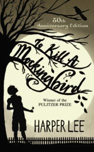 Book cover for To Kill A Mockingbird by Harper Lee.