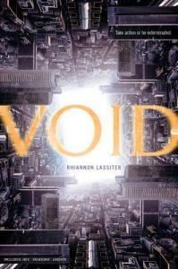 Book cover for Void by Rhiannon Lassiter