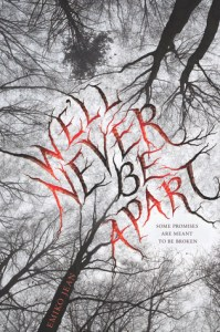 Book cover for We'll Never be Apart by Emiko Jean
