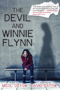 Book cover for The Devil and Winnie Flynn by Micol Ostow.