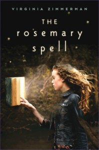 Book cover for The Rosemary Spell by Virginia Zimmerman.