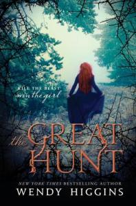 Book cover for The Great Hunt by Wendy Higgins