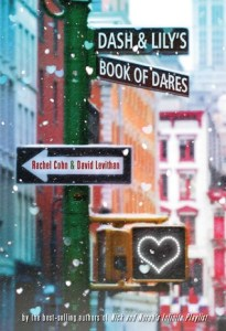 Book cover for Dash & Lily's Book of Dares by Rachel Cohn