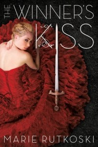 Book cover for The Winner's Kiss by Marie Rutkoski