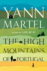 Book cover for The High Mountains of Portugal by Yann Martel