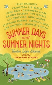 Book cover for Summer Days and Summer Nights by Stephanie Perkins
