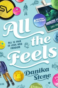 Book cover for All the Feels by Danika Stone
