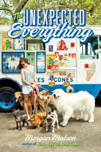 Book cover for The Unexpected Everything by Morgan Matson.