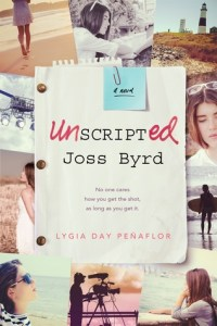 Book cover for Unscripted by Joss Byrd