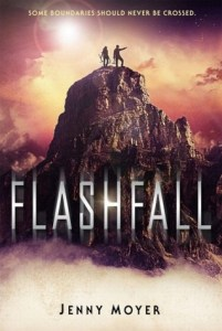 Book cover for Flashfall by Jenny Moyer