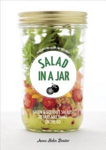 Book coverer Salad in a Jar by Anna Helm Baxter