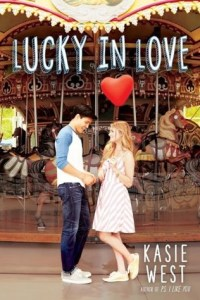 Book cover for Lucky in Love by Kasie West