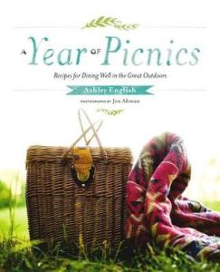 Book cover for A Year of Picnics by Ashley English